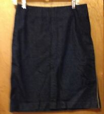 Gap denim skirt ladies  size 8 waist is 29 and length is 23 1/2 inch above knee