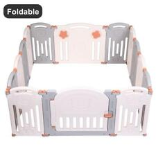 Baby Folding playpen Kids Activity Centre Safety Play Yard Home Indoor Outdoor