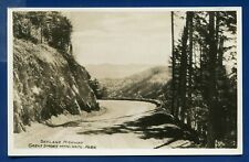 Skyland Highway Great Smoky Mountains National Park real photo postcard RPPC