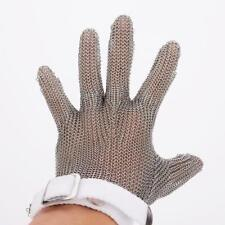 Stainless Steel Glove Safety Work Cut Proof Stab Resistant Butcher Mesh 25cm