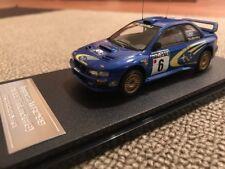 SALE!! HPI #8599 1999 Finland Rally Subaru Impreza RS WRX STI WRC '97 1/43