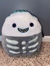 "Squishmallow 14"" Barrel Boy Nightmare Before Christmas Plush BNWT Disney NBC"