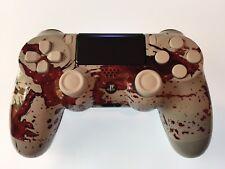 Véritable Sony PS4 Custom manette V2 DUALSHOCK 4 contrôleur sang éclaboussures-boutons blancs