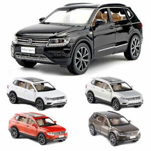 1:32 All Tiguan L Off-road SUV Metall Modellauto Spielzeug Model Pull Back NEU