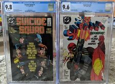 Suicide Squad #1 CGC 9.8 and Superman #4 CGC 9.6! First App Of Bloodsport! DC