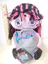 """New Monster High Draculaura Plush Pillow Doll Hugger & Throw Blanket 40"""" x 50"""""""