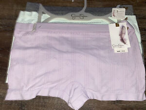 Jessica Simpson ~ Women's Boyshort Underwear Panties Nylon Blend 3-Pair ~ XL