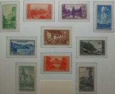 U.S.Stamp:Scott#'s740, - 749, 1c- 10c, The National Parks Issues of 1934, OGHR