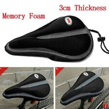 Memory Foam Sponge Soft Bike Bicycle Cycling Saddle Seat Cover Cushion SSS