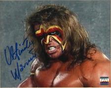 Ultimate Warrior подпись 8x10 фото WWE WWF с автографом, подписанная реслинг фото