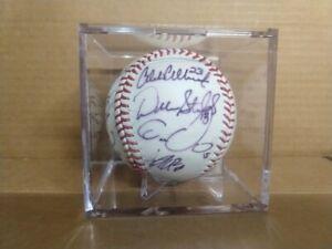 2014 Colorado Rockies Team Signed Baseball DJ LeMahieu Gonzalez Culberson Auto