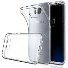 Étuis, housses et coques transparents Samsung Galaxy S8 en silicone, caoutchouc, gel pour téléphone mobile et assistant personnel (PDA)