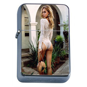 German Pin Up Girls D12 Windproof Dual Flame Torch Lighter Refillable