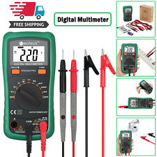 TRMS Digital Multimeter AC/DC Current Voltage Resistance Meter Tester 2000Counts