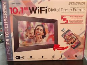 "Sylvania 10.1"" WIFI Digital Photo Frame HIGH RESOLUTION IPS TOUCH SCREEN"