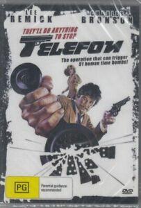 Telefon Telephone DVD Charles Bronson Brand New and Sealed Australian Release