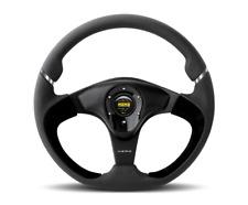 """MOMO NERO Steering Wheel Leather NER35BK0B """"US Dealer"""""""