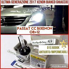 2 Lampadine XENON D1S VOLKSWAGEN PASSAT CC 357 fari 6000K Luci VW R Line 2008-12