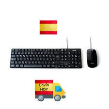 NUEVO COMBO TECLADO Y RATON USB PC ORDENADOR ESPAÑOL Ñ ENVIAMOS HOY GRATIS