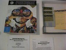 "Patriot PC game complete 3.5"" disks  1992"