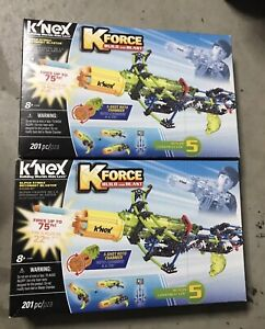 2X K'NEX K-FORCE – Super Strike RotoShot Blaster Building Set – 201 Pieces