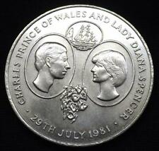 1981 St Helena Crown Coin - Royal Wedding Charles & Diana