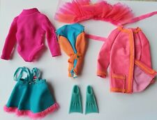 Barbie Vintage #1585 Living Barbie Action Accents Sears Set