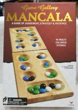 Cardinal Classic Wood Mancala - Folding Board Marble Game, NIP (8D)