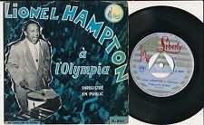 """LIONEL HAMPTON 45 TOURS EP 7"""" ITALY A L'OLYMPIA"""