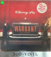 "Warrant - Cherry Pie  12""  Vinyl Rare Original VG + Con"