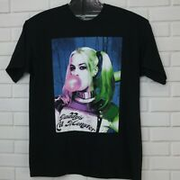 Suicide Squad Harley Quinn Daddys Lil Monster Black T Shirt Tee XL DC Comics