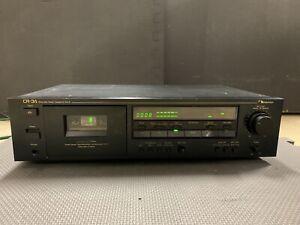 Nakamichi CR-3A  3-Head Cassette Deck, serviced.