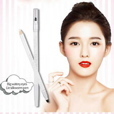 NEW White Glitter Eyeliner Eye Shadow Pencil Lying Silkworm Shimmer Pen Makeup
