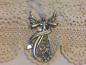 Ganz Pewter Angel  Ornament for Grandma
