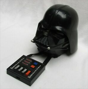Star Wars Darth Vader Voice Changer Costume Helmet Mask Breathing Sounds 2004