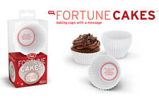 Fortune Cakes Baking Cups - Cupcakes with a Message - Genuine Fred and Friends