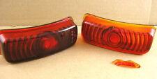 1936 Pontiac All NOS Tail Lamp Glass Lens Pair, 918700