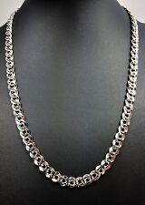 Collar Cadena de plata de tono Vintage Firmado Napier Pat. 4.774.743 1960s