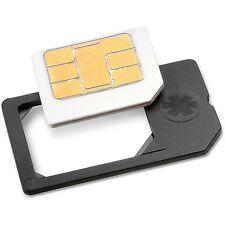 MicroSIM Adapter MADE IN GERMANY für Micro Sim Karten zu normaler Simkarte *NEU*