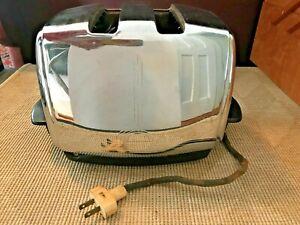 Vintage 1950s Sunbeam Model T-20 Toaster Chrome Fab!