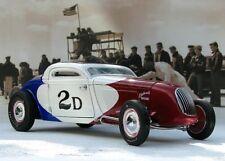 1934 FORD PIERSON BROS COUPE BONNEVILLE LAND SPEED SALT FLATS RACE CAR 1:18 GMP