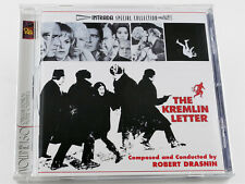 Robert Drasnin THE KREMLIN LETTER Richard Boone Soundtrack Intrada CD (VG)