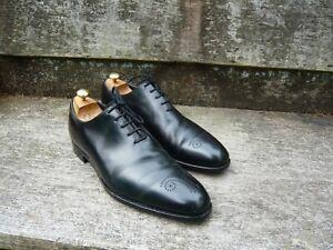 CROCKETT & JONES HAND GRADE WHOLECUT BROGUES – BLACK - UK 11 – WEYMOUTH - VGC