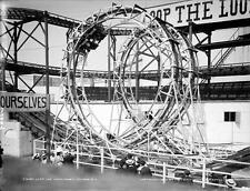 Photo. 1900s. Coney Island, Brooklyn. Circus Rings Ride