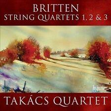 Britten: String Quartets Nos.1, 2 & 3