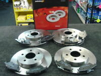 NEW MINTEX REAR BRAKE DISCS SET MDC660 FREE DELIVERY