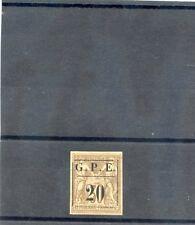 GUADELOUPE Sc 1(YT 1)*VF OG 1884 20c/30c $165