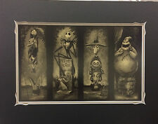 Disney Haunted Mansion Nightmare Before Christmas Stretching Room Portrait Print