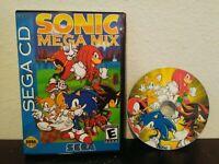 Sonic Megamix ROM hack video game for Sega CD, Mega Mix, Very fun!