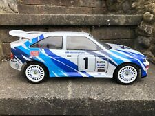 Ford Escort Cosworth 1:10 Whale Tail Rally Body Shell Lexan reproduction  £21.99